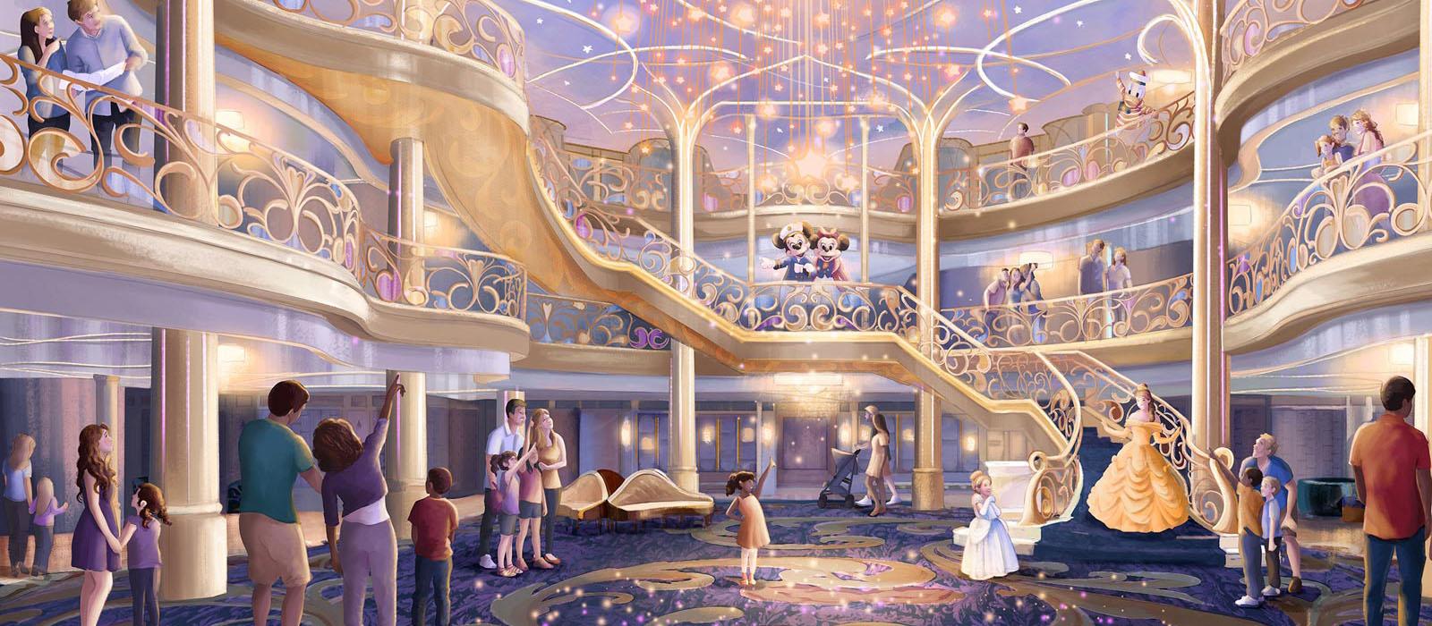 Nieuw schip voor <br> Disney Cruise Line