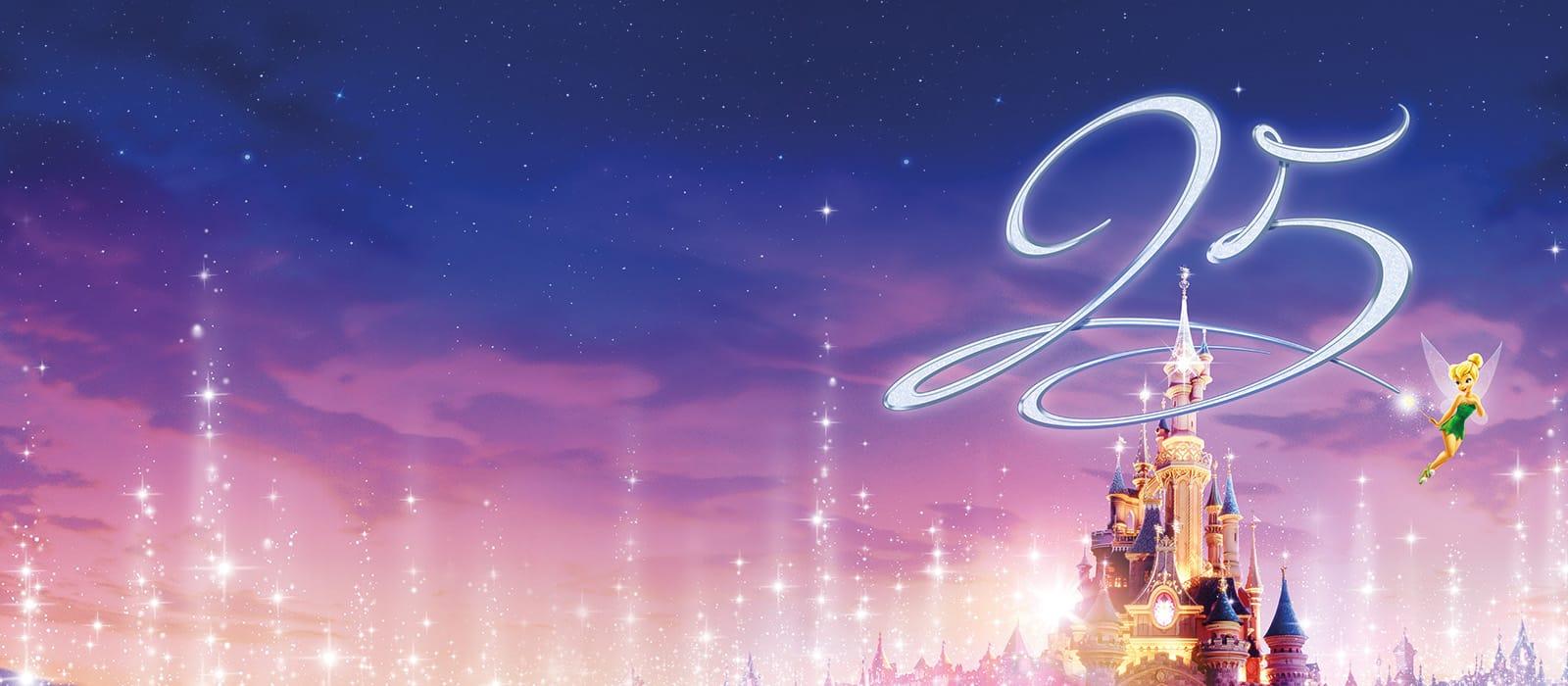 25e verjaardag <br> van Disneyland Paris