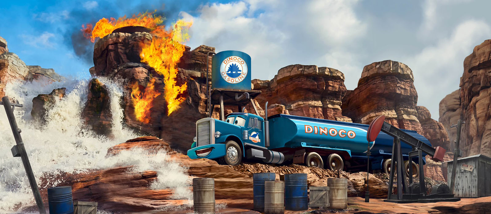 Nieuwe Cars attractie <br> in Disneyland Paris