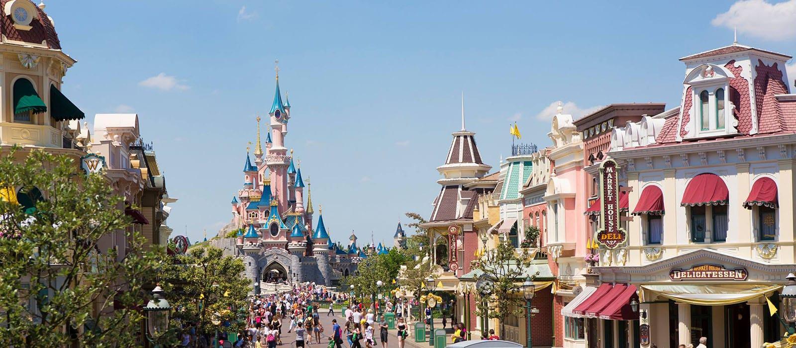 Tijdelijke sluiting <br> Disneyland Paris