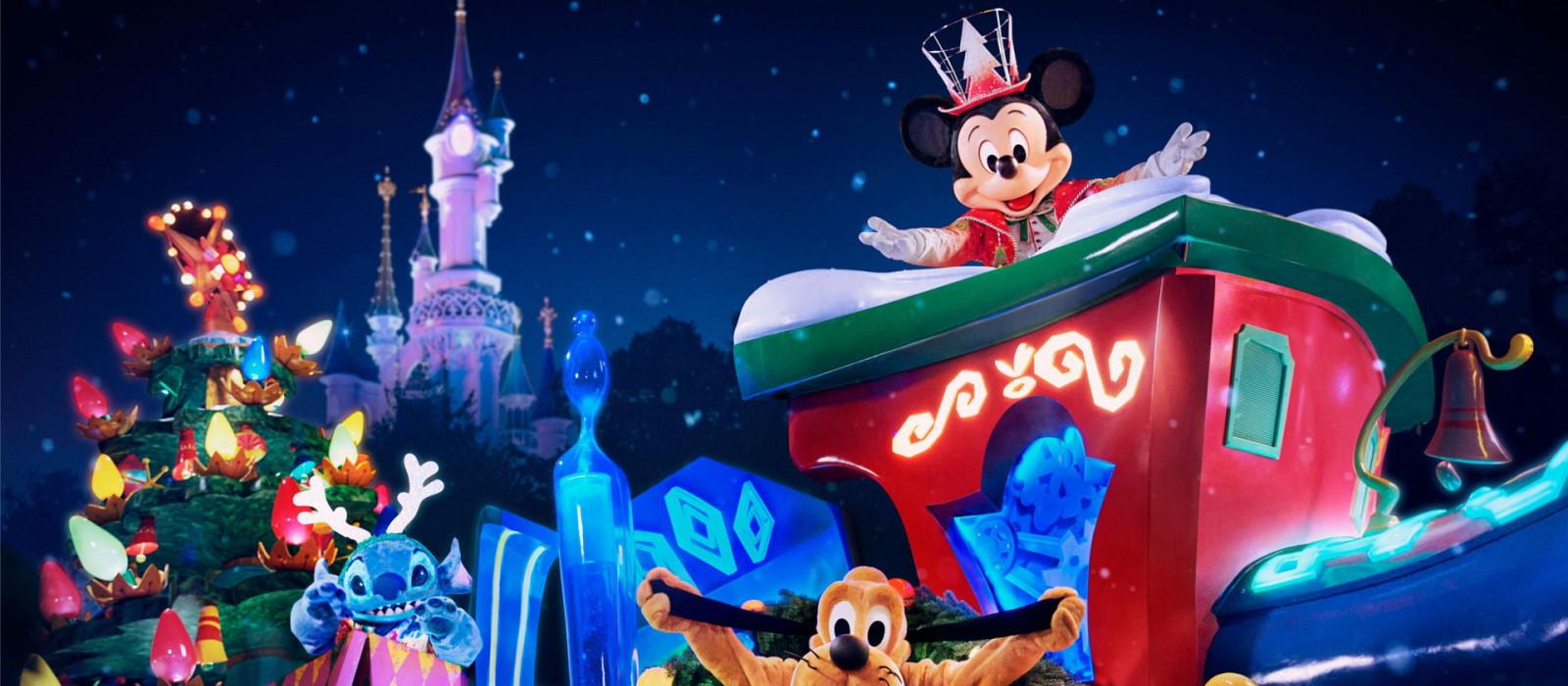 Nieuwe kerstparade <br> in Disneyland Paris