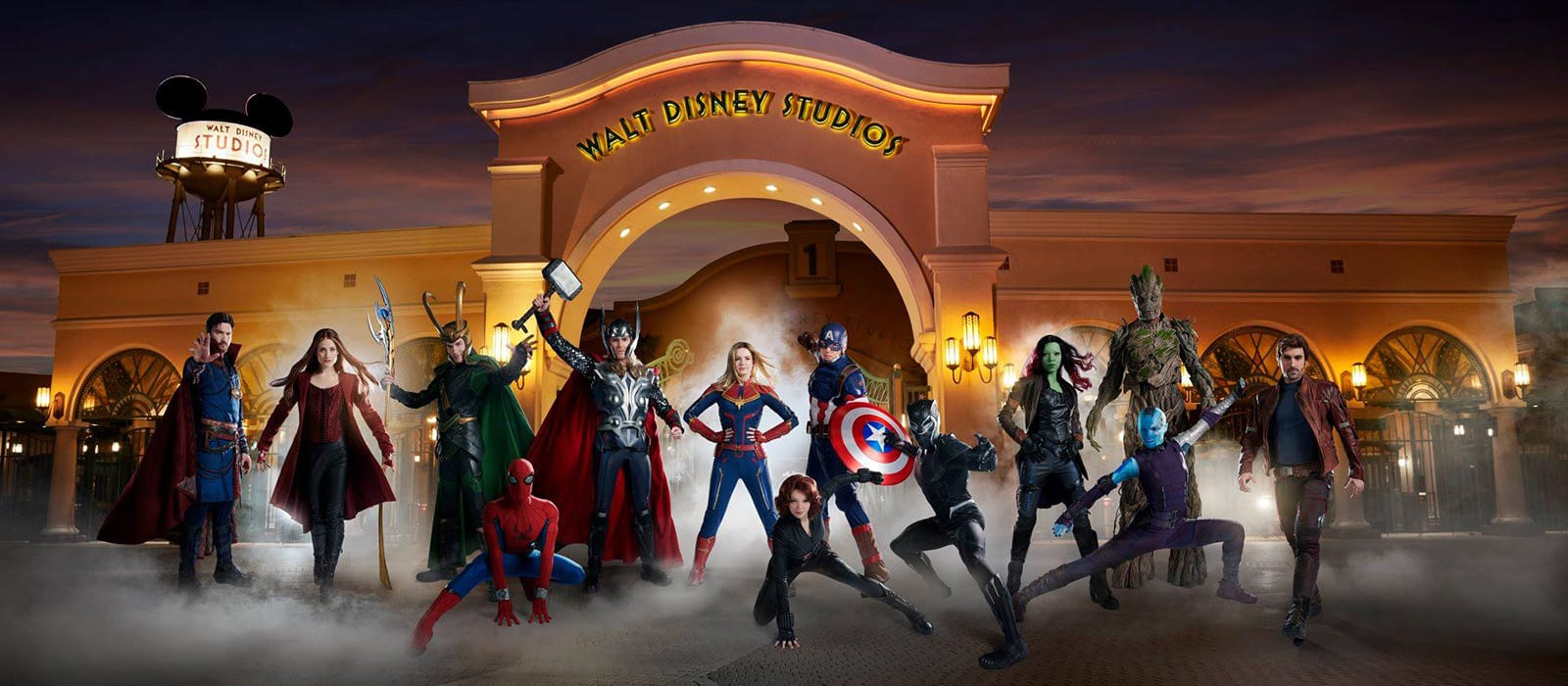 Marvel Superhelden <br> in Disneyland Paris
