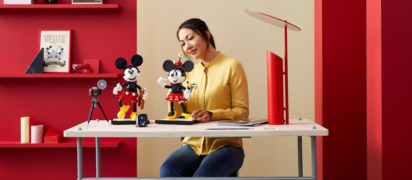 Mickey & Minnie <br> LEGO bouwpakket