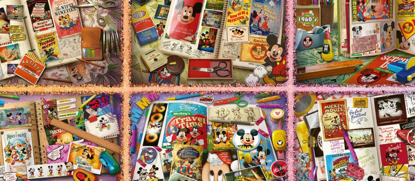 Grootste Mickey Mouse <br> puzzel ter wereld