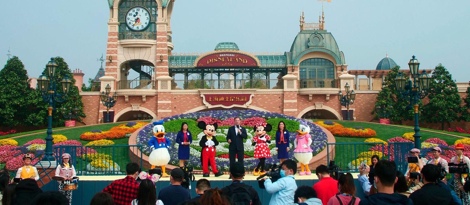 Shanghai Disneyland <br> is weer geopend!