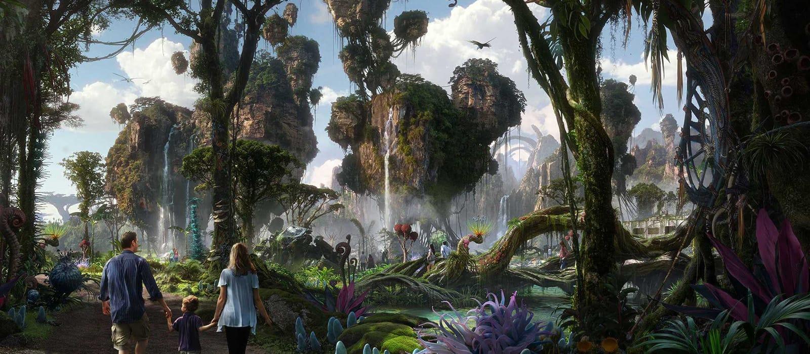Avatar's Pandora <br> in Walt Disney World